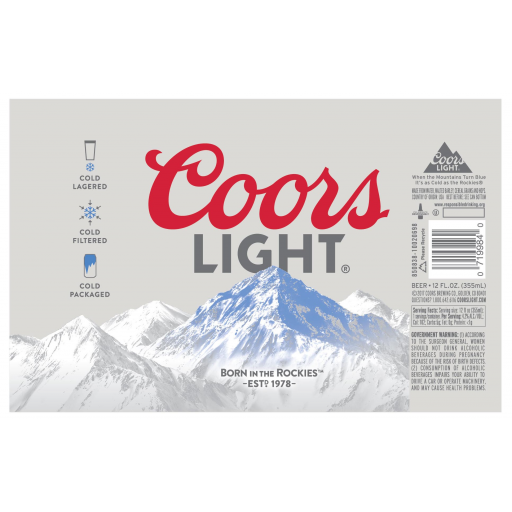 Coors Light - Coors Brewing Company : BreweryDB com