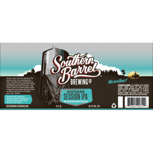 Southern Session IPA - Southern Barrel Brewing Co
