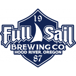 BEER STICKER ~ FULL SAIL Brewing Co Session Lager ~ Hood River OREGON Brewery